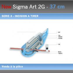 Coupe Carreaux Sigma 037 cm 2G