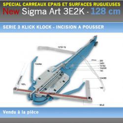 Coupe Carreaux Sigma 128 cm 3E2K