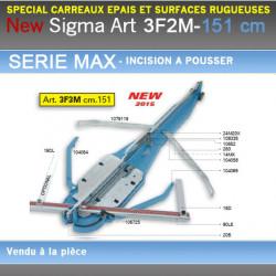 Coupe Carreaux Sigma 156 cm 3F4M