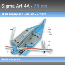 Coupe Carreaux Sigma 075 cm 4A