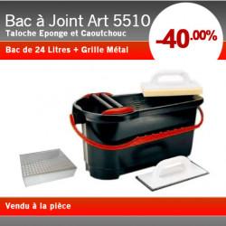 Bac à Joint 24L + Grille Métal