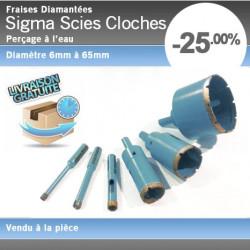 Scies Cloches Diamantées Sigma