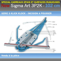 Coupe Carreaux Sigma 102 cm 3P2K