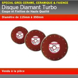 Disque Diamant Turbo Grès Cérame