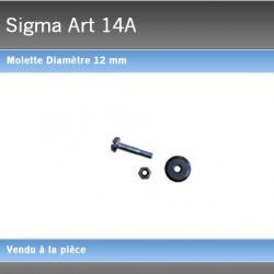 Molette Sigma 12 mm 14A