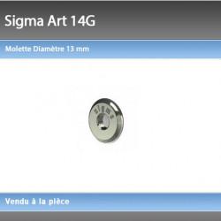 Molette Sigma 13 mm 14G