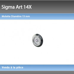Molette Sigma 13 mm 14X